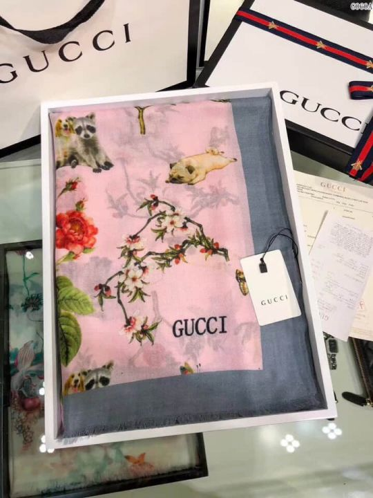 GG 2018 Cashmere G060 Women Scarves