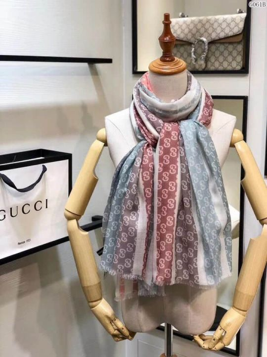GG 2018 Cashmere G061 Women Scarves
