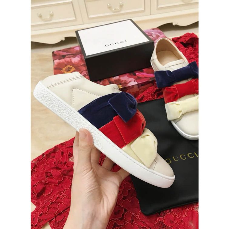 GG Ace Sneakers 524989 0RD20 9093 Women Shoes