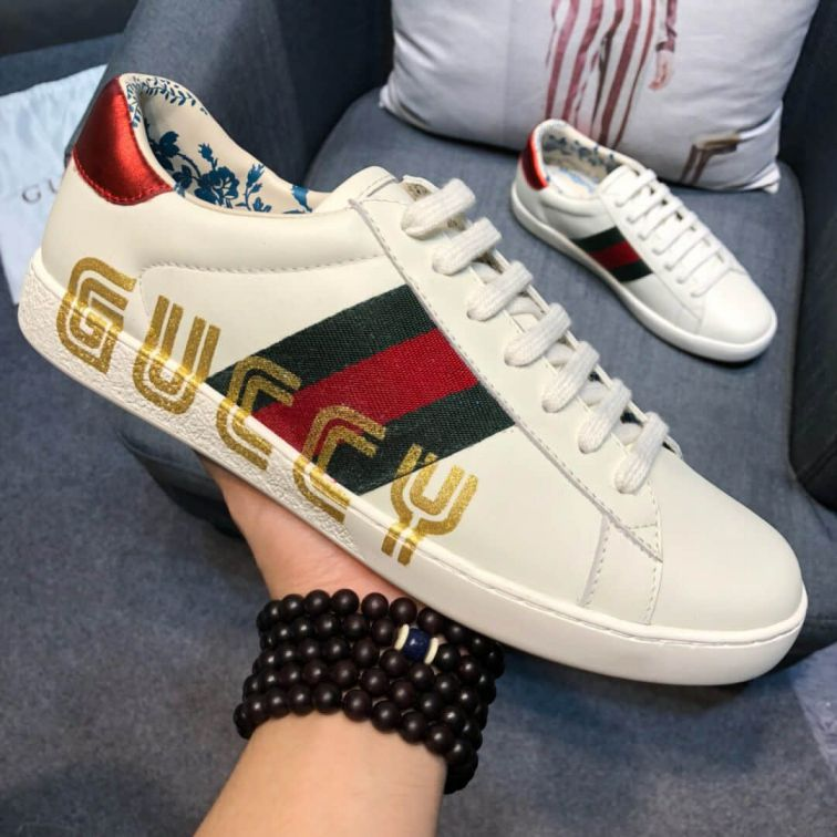 GG 2018 Causal 525268 0G2D0 9072 Men Shoes