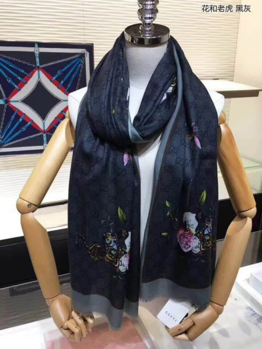 GG 2018SS Cashmere Women Scarves