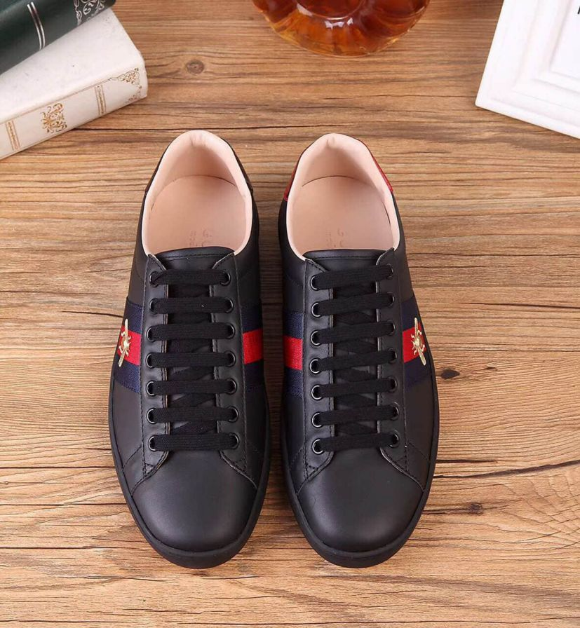 GG Ace Embroidery Sneakers 429446 A38G0