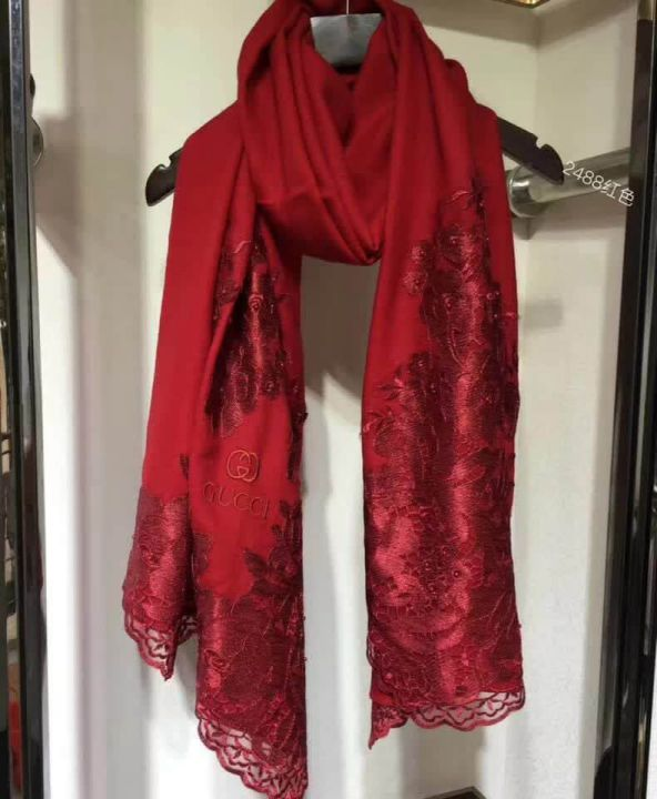 GG Wool Cashmere Women Scarves