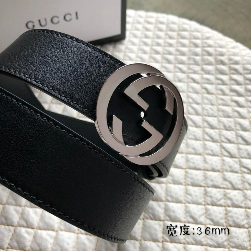 Classic GG Leather 36mm Men Belts