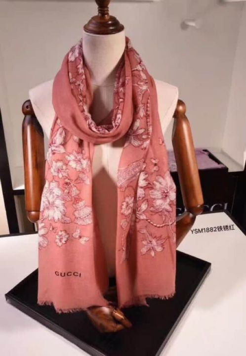 GG 2018FW Cashmere Women Scarves
