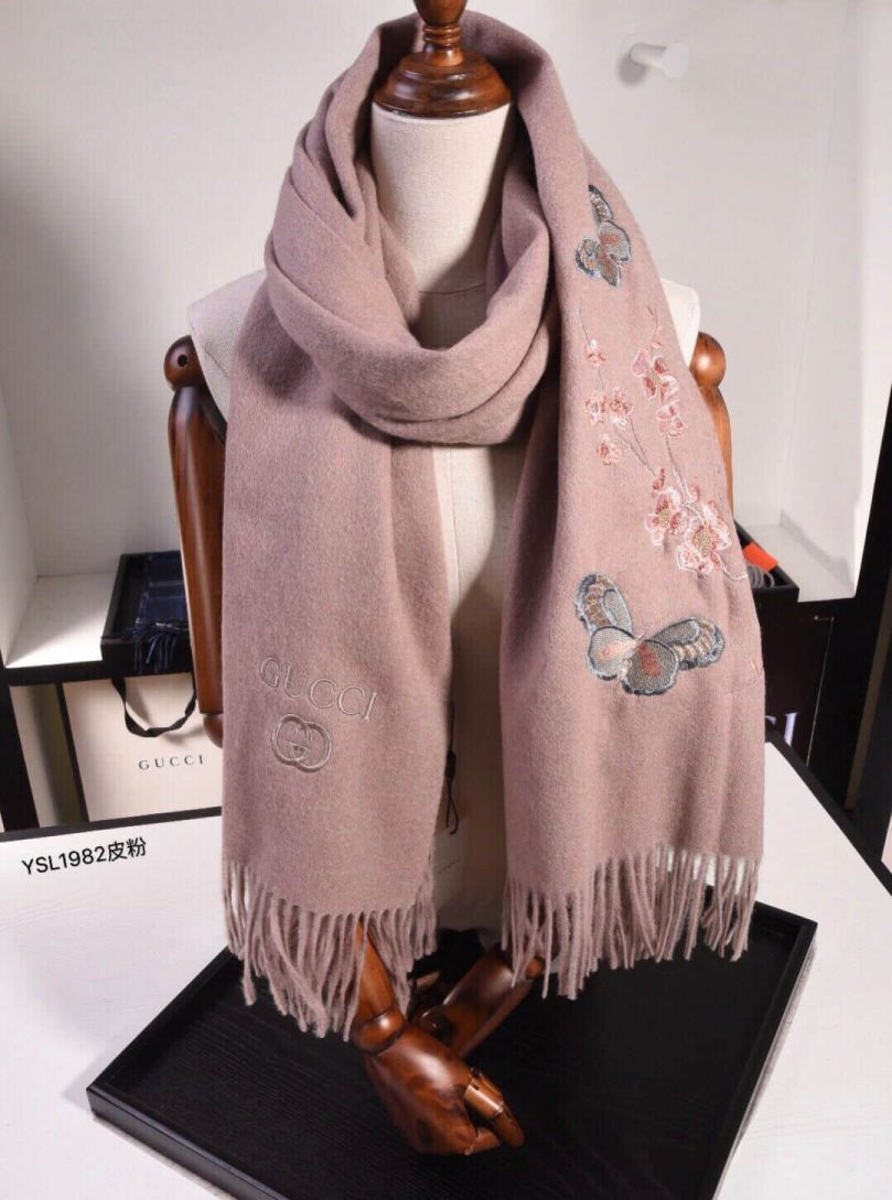 GG 2018 Cashmere Women Scarves