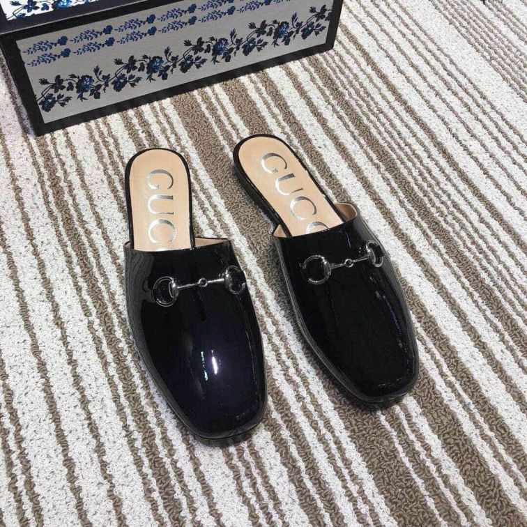 GG 2019SS Women Leather Slippers