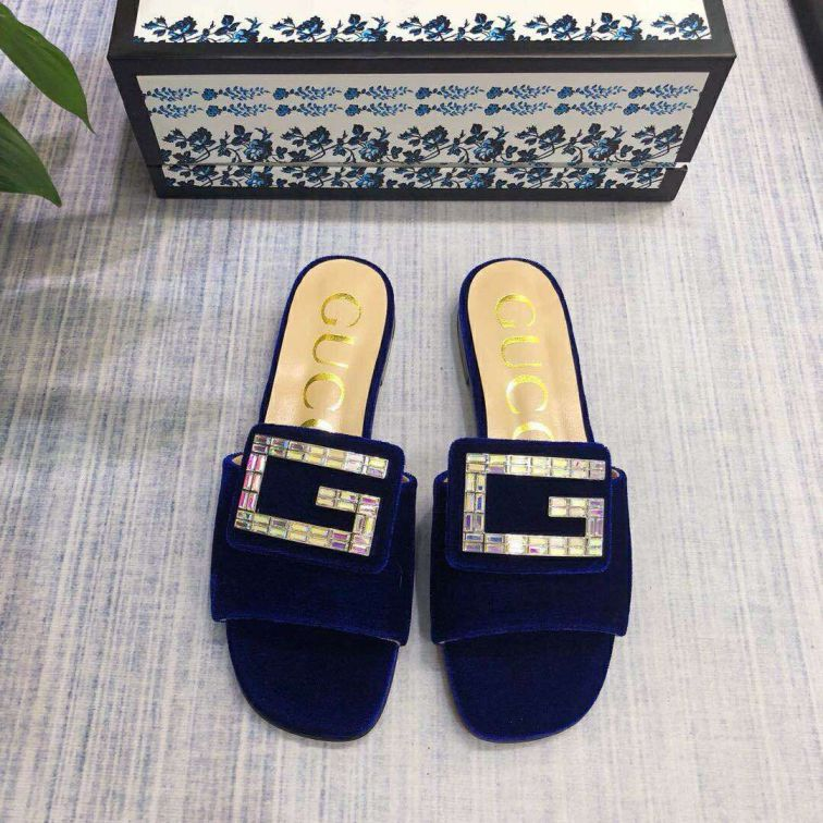 GG 2019SS Women Leather Sandals
