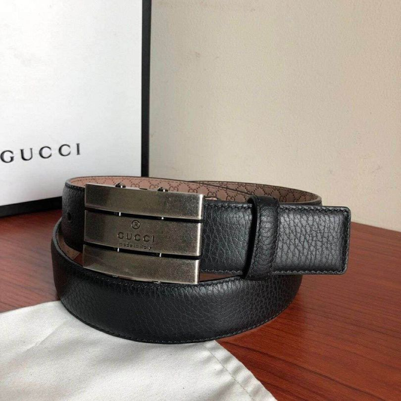 GG 35mm Unisex Men Leather Belts
