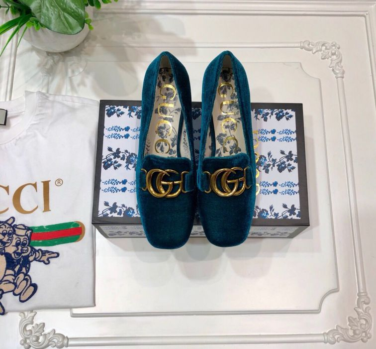 GG 2019SS High Women Shoes