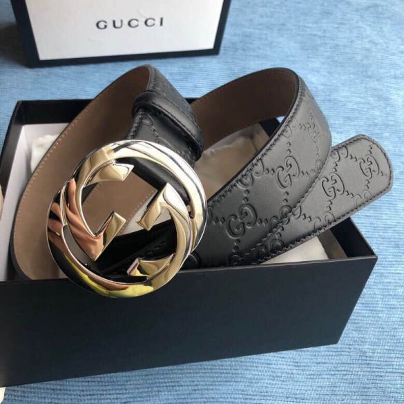 GG Leather 38mm GG Leather 38mm Men Belts