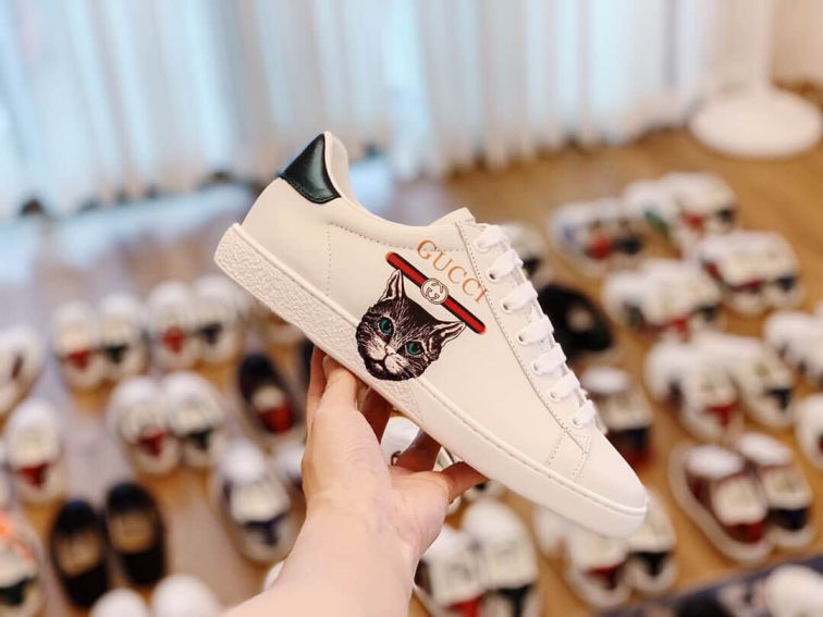 GG Ace Mystic Cat Unisex Sneakers