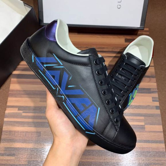 GG Ace Loved Sneakers Men Shoes