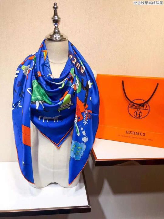 Hermes 2018 18mm Women Scarves