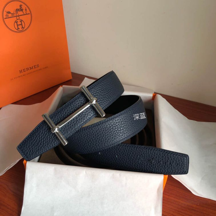 Hermes H dAncre & Reversible 38mm Men Belts