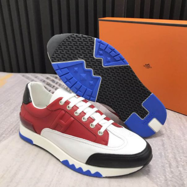 Hermes Leather Men Casual Shoes