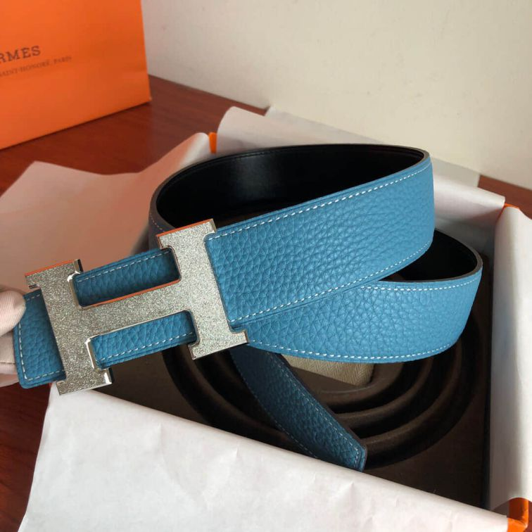 Hermes Metal Reversible 38mm Men Belts
