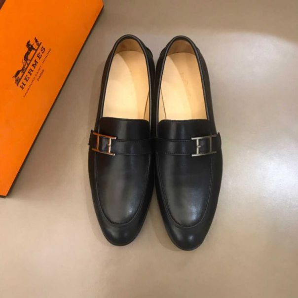 Leather H Business Leather Shoes Men Shoes
