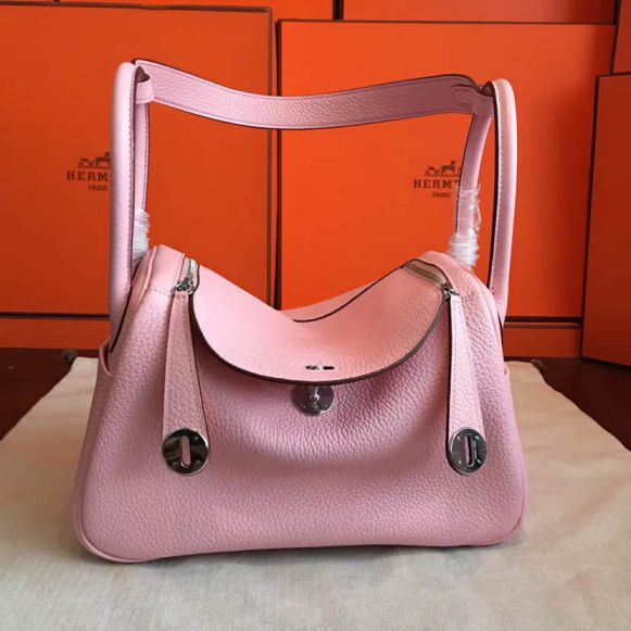 Hermes 3Q togo lindy 26CM Women Shoulder Bags