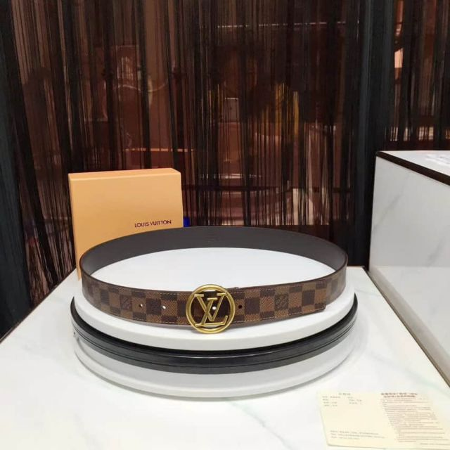 LV Round logo Men Belts