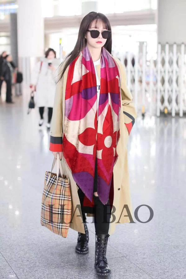 LV 100% Square Women Scarves