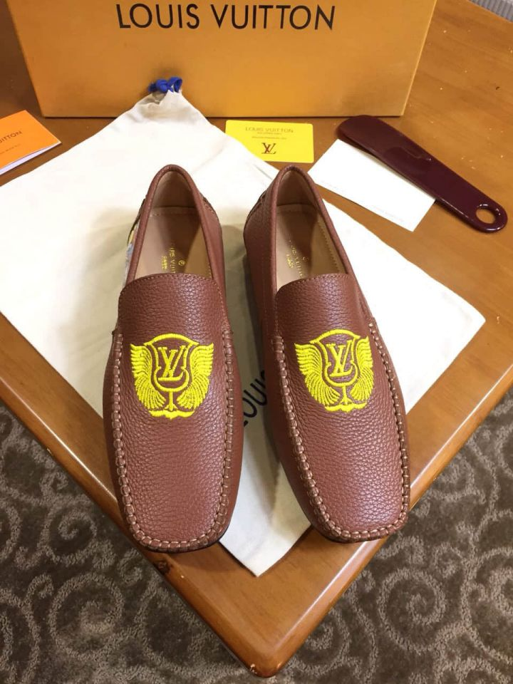 2018 LV Causal Men Loafers