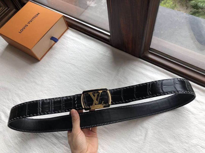 2018 LVLeather Men Belts