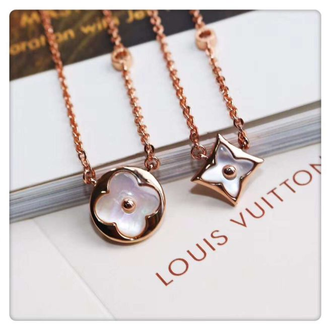 LV 25 LV Round Necklaces