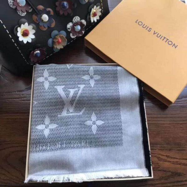 LV Silk Wool Square Women Scarves