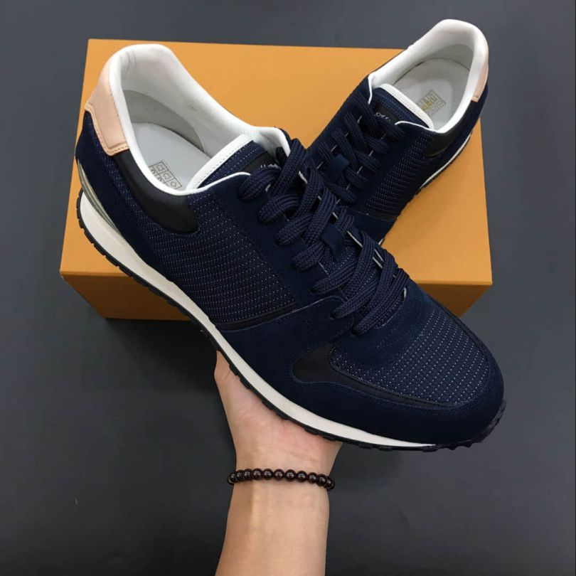 LV Canvas Men Sneakers