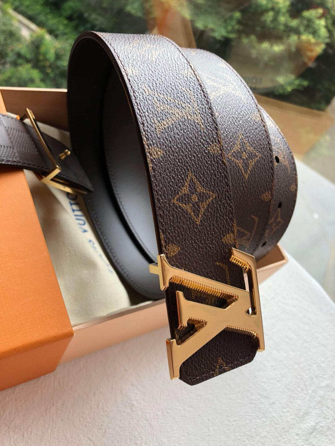 2018 LV Metal Buckle Reversible 40mm Men Belts
