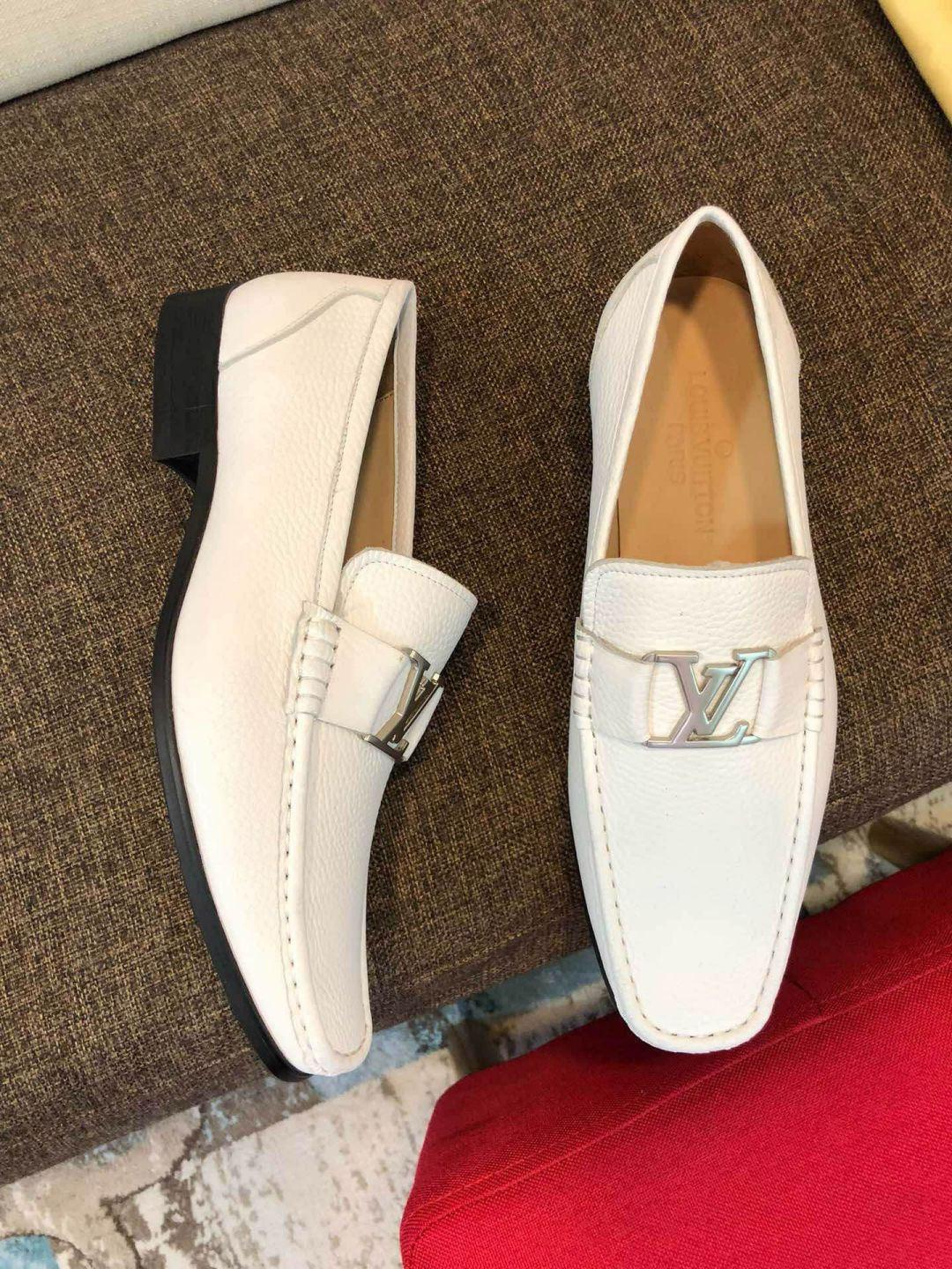 LV Loafers Men Driver Shoes