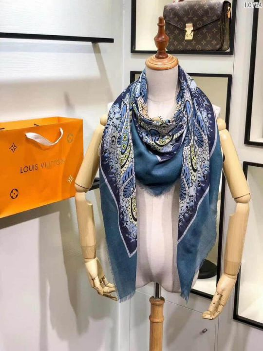 2018 LV Graphic Paisley Women Scarves
