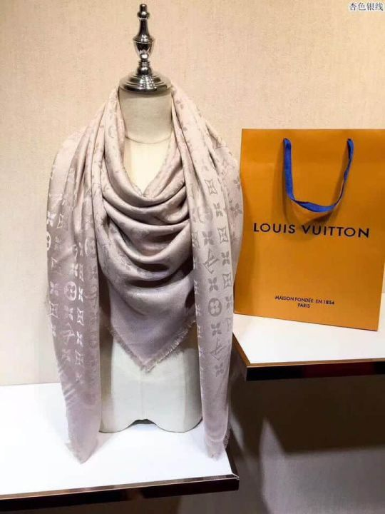 2018 LV 100% Wool Cashmere Women Scarves