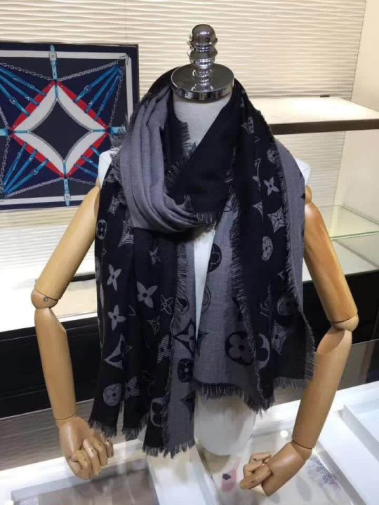 LV Double Cashmere Women Scarves