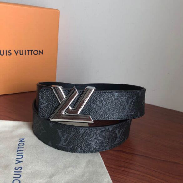 LV Metal Buckle 3.8cm Men Belts