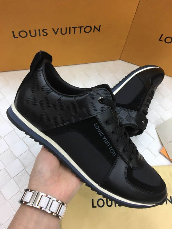LV Men Causal Leather Sandals