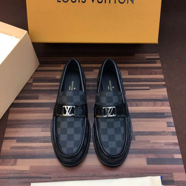 LV Leather Men Casual Shoes
