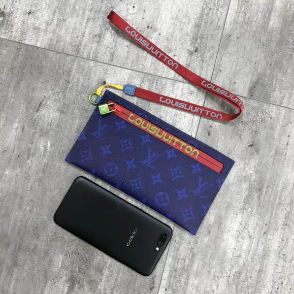 LV 2018 Small Blue Wallets