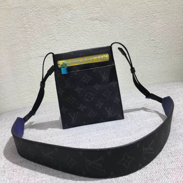 LV 2018 Black Grey Shoulder Bags