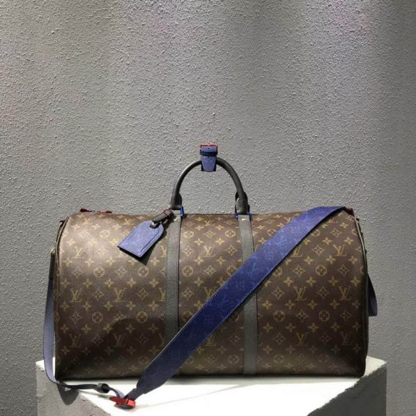 LV 2018ss Monogram Multicolor KEEPALL 55 M43858 Travel Bags
