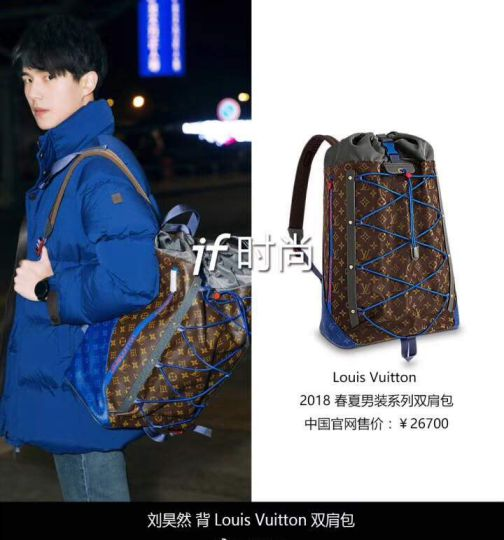 LV 2018ss Backpack Outdoor Men M43834 Backpack Bags