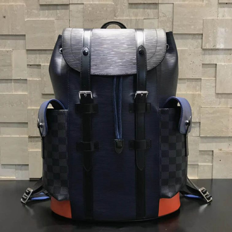 LV 2018 Multicolor CHRISTOPHER Men M51457 Backpack Bags