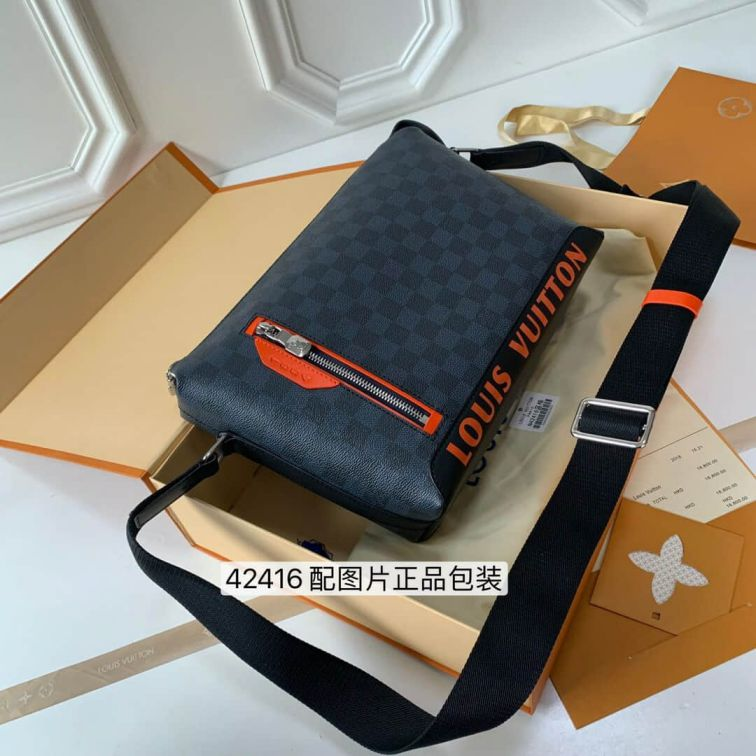 LV 1854 N42416 Blue Crossbody Shoulder Bags