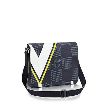 America's Cup LV N44002 District Damier Latitude Print Crossbody Shoulder Bags