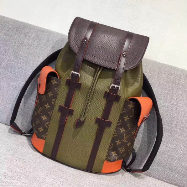 LV Canvas Epi Multicolor CHRISTOPHER Small M53425 Backpack Bags