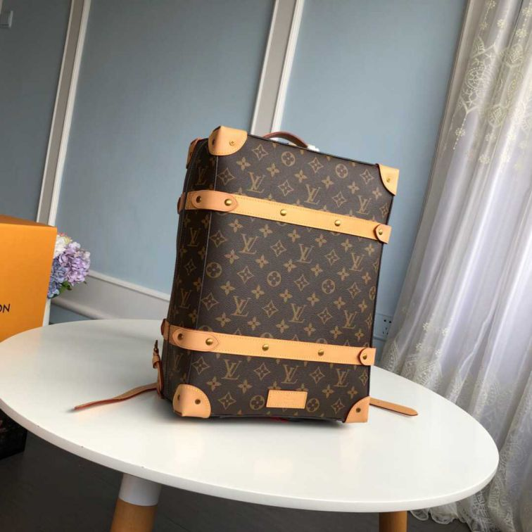 LV 2019 NEW Monogram Soft Trunk Small M44752 Men Backpack Bags