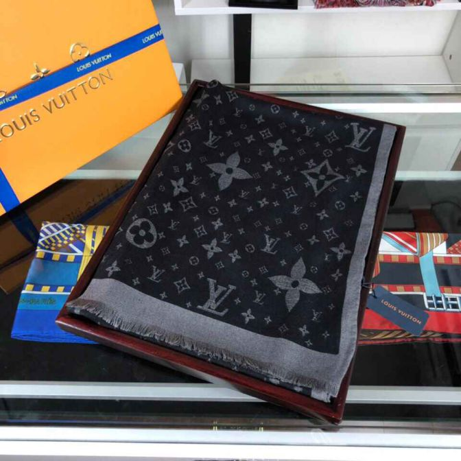 LV Pure Cashmere Women Scarves