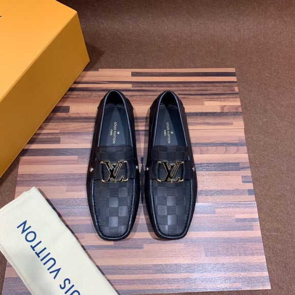LV Men Leather Shoes