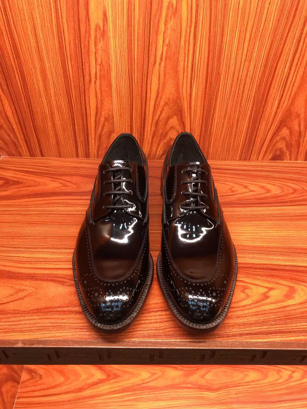 LV Patent Men Shoes